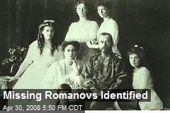 Missing Romanovs Identified