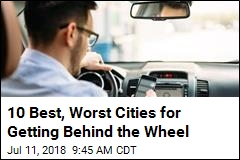 10 Best, Worst Cities for Getting Behind the Wheel