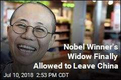 Nobel Winner's Widow Finally Allowed to Leave China