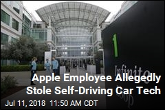 Apple Employee Allegedly Stole Self-Driving Car Tech