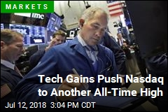 Tech Gains Push Nasdaq to Another All-Time High