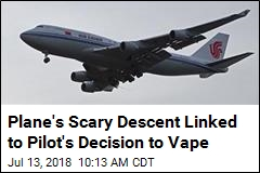 Vaping Co-Pilot Causes Scare on Air China Flight: Officials