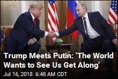 Hillary Clinton Jabs Trump Ahead of Putin Summit