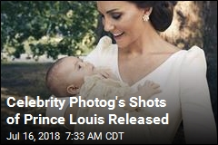 Celebrity Photog's Shots of Prince Louis Released