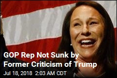 GOP Rep Not Sunk by Former Criticism of Trump