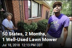 50 States, 2 Months, 1 Well-Used Lawn Mower