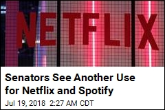 Senators Want to Extend Alert System to Netflix, Spotify