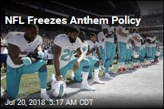 NFL Puts Anthem Policy on Hold