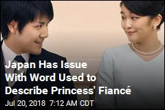 Japan Apparently Doesn't Want Princess' Fiancé Called Fiancé