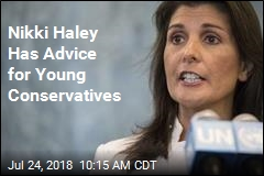 Nikki Haley Has Advice for Young Conservatives