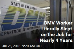 DMV Worker Spent 2.2K Hours Napping at Desk