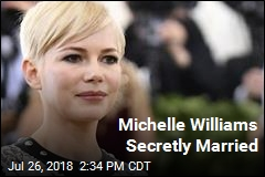 Michelle Williams Secretly Married