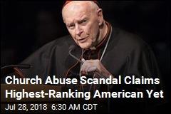 Church Abuse Scandal Brings Down US Cardinal