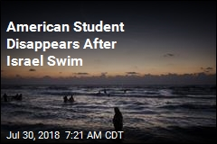 American Student Disappears After Israel Swim