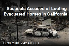 2 Suspected Looters Arrested Amid Wildfires