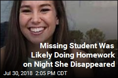 Missing Student Was Likely Doing Homework on Night She Disappeared