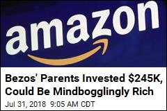 Bezos' Parents Could Be Worth a Staggering Amount of Money