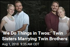 'We Do Things in Twos:' Twin Sisters Marrying Twin Brothers