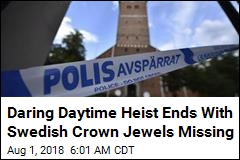 Daring Daytime Heist Ends With Swedish Crown Jewels Missing