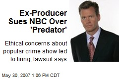 Ex-Producer Sues NBC Over 'Predator'