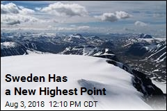 Sweden Has a New Highest Point