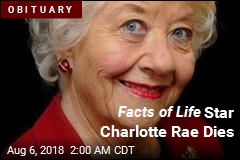 Facts of Life Star Charlotte Rae Dies