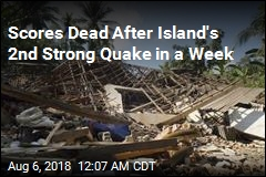 Scores Dead After Island's 2nd Strong Quake in a Week
