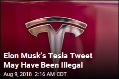 Musk Tweets May Have Broken Securities Laws