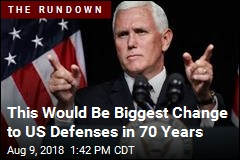 This Would Be Biggest Change to US Defenses in 70 Years