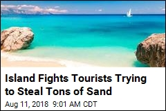 Take Sand From This Island and You Could Pay $3.4K