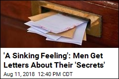 Men Get Letters Warning 'I Know About the Secret'