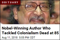 Nobel-Winning Author Who Tackled Colonialism Dead at 85