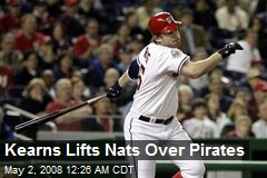 Kearns Lifts Nats Over Pirates
