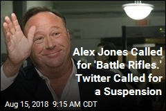 Twitter Says 'See Ya' to Alex Jones—for 7 Days