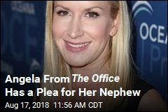 Angela From The Office Has a Plea for Her Nephew