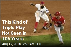 This Kind of Triple Play Not Seen in 106 Years