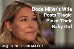 Bode Miller's Wife Posts Tragic Pic of Their Baby Girl