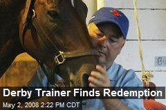 Derby Trainer Finds Redemption