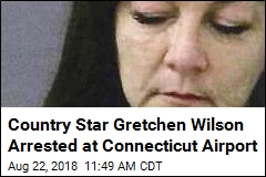 Country Star Gretchen Wilson Arrested at Connecticut Airport