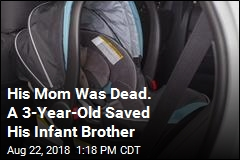 His Mom Was Dead. A 3-Year-Old Saved His Infant Brother