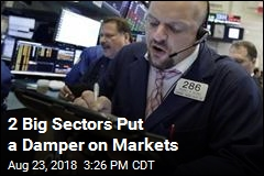 2 Big Sectors Put a Damper on Markets