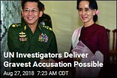 UN's Scathing Myanmar Conclusion: Genocide