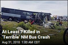 At Least 7 Killed in New Mexico Bus Crash