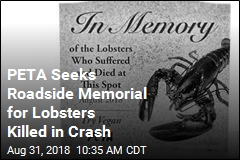PETA Requests 5-Foot Tombstone for Lobsters