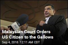 Malaysia Sentences American Man to Hang