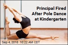 Kindergarten Kids Welcomed Back With Pole Dance