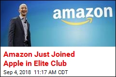 Amazon Just Joined Apple in Elite Club