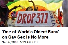 'One of World's Oldest Bans' on Gay Sex Is No More