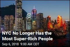 NYC No Longer Has the Most Super-Rich People