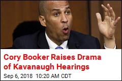 Cory Booker: I'm Breaking Senate Rules on Kavanaugh